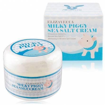 Увлажняющий крем с морской солью Elizavecca Sea Salt Cream - 100 мл