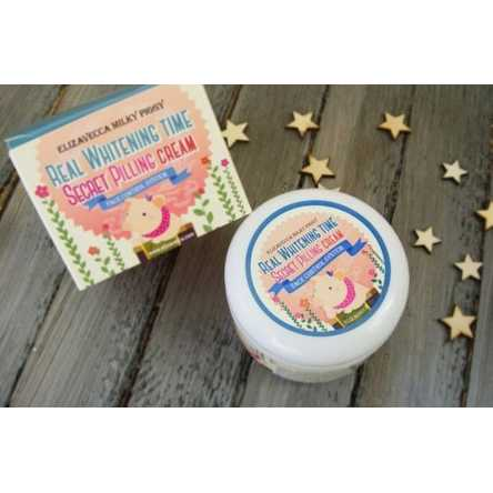 Пилинг-крем для лица с кислотами Elizavecca Whitening Time Secret Peeling Cream - 100 мл