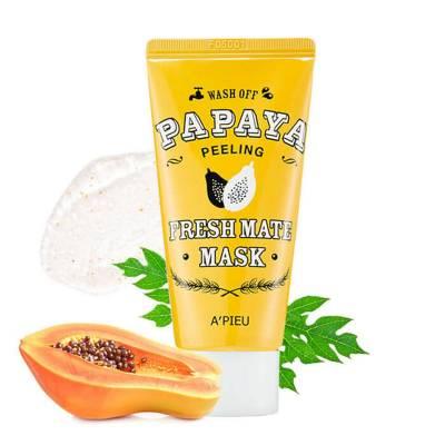 Очищающая маска для лица A'PIEU Fresh Mate Papaya Wash Off Mask - 50 мл
