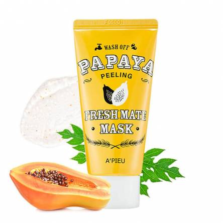 Очищающая маска для лица A'PIEU Fresh Mate Papaya Wash Off Mask - 50 мл