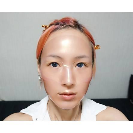 Гидрогелевая маска для лица с болгарской розой Koelf Ruby & Bulgarian Rose Mask - 30 мл