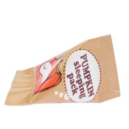 Миниатюра ночной маски с тыквой Too Cool For School Pumpkin Sleeping Pack - 3 мл