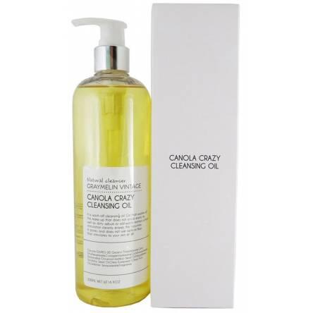 Гидрофильное масло с канолой Graymelin Canola Crazy Cleansing Оil - 500 мл