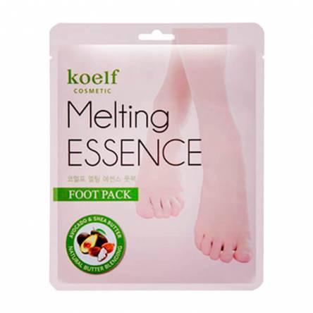 Смягчающая маска-носочки для ног KOELF Melting Essence Foot Pack - 14 гр