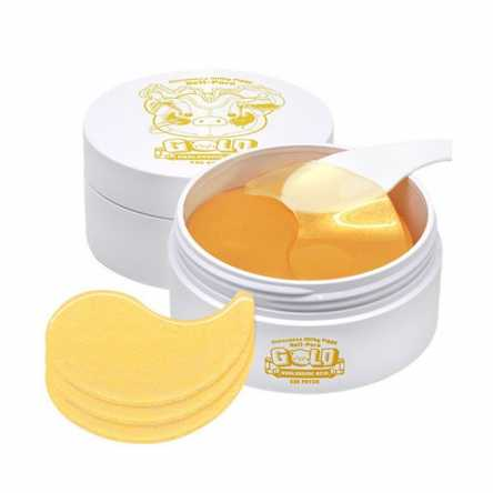 Увлажняющие гидрогелевые патчи ELIZAVECCA Milky Piggy Hell Pore Gold Hyaluronic Acid Eye Patch - 60 шт