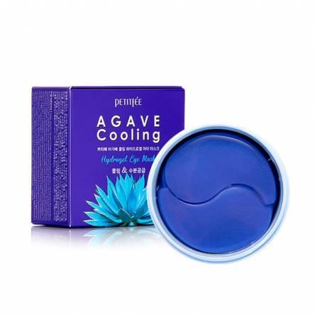 Охлаждающие гидрогелевые патчи для глаз PETITFEE Agave Cooling Hydrogel Eye Patch - 60 шт