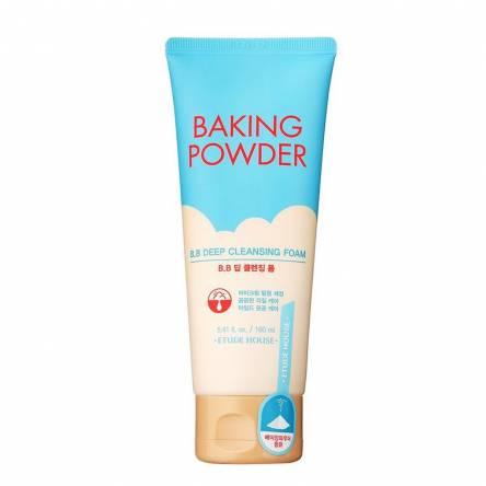 Пенка с содой для снятия макияжа Etude House Baking Powder B.B Deep Cleansing Foam - 160 мл