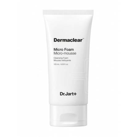 Мягкая пенка с био-водой Dr.Jart+ Dermaclear Micro Foam Micro-Mousse Cleansing Foam - 120 мл