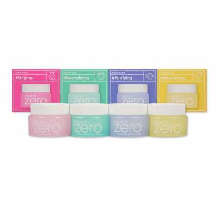 Набор миниатюр очищающих бальзамов BANILA CO Clean it Zero Special Kit - 4*7мл