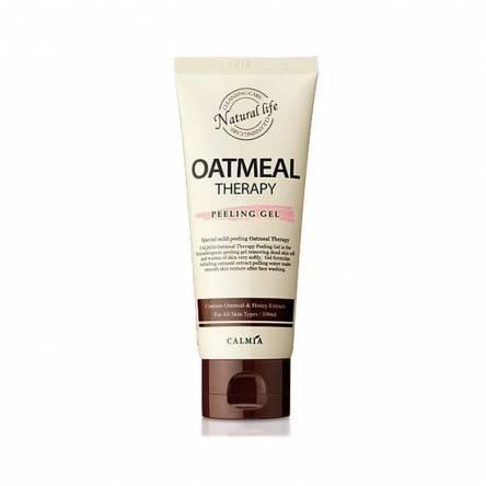 Пилинг-гель с экстрактом овса Calmia Oatmeal Therapy Peeling Gel - 100 мл