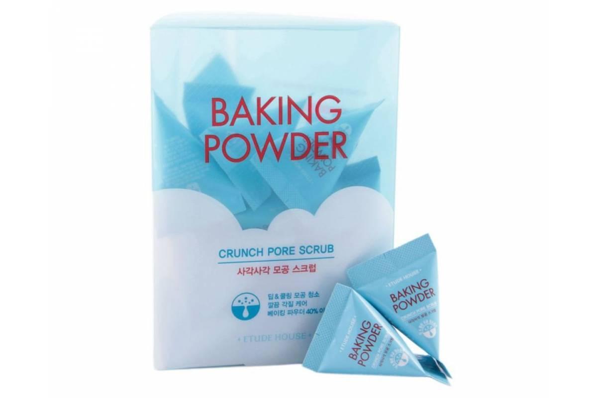 Скраб-пирамидка с содой для очищения пор ETUDE HOUSE Baking Powder Crunch Pore Scrub - 7 гр