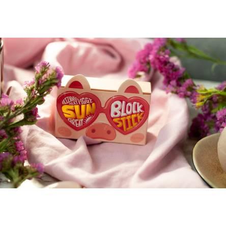 Солнцезащитный стик для лица ELIZAVECCA Milky Piggy Sun Great Block Stick SPF50+ PA+++ - 22 гр