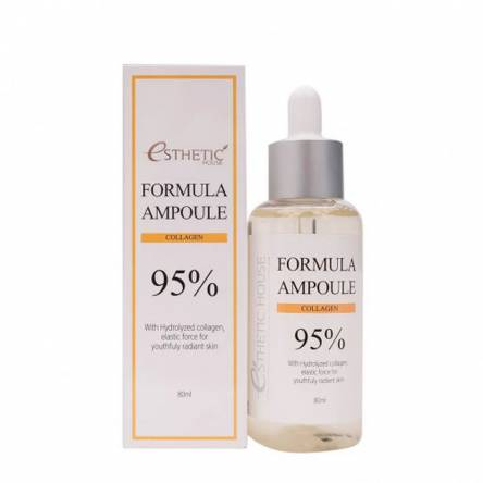 Сыворотка для лица с коллагеном Esthetic House Formula Ampoule Collagen - 80 мл
