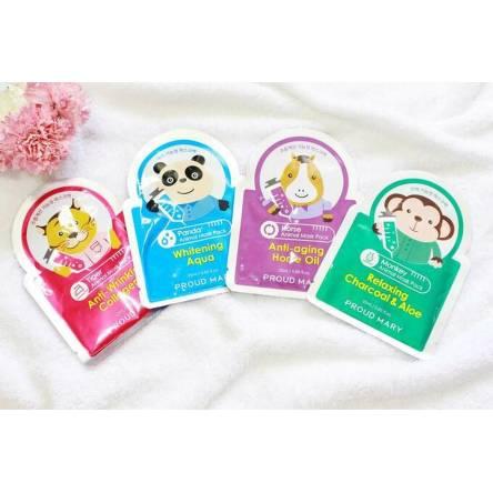 Тканевая маска для лица Proud Mary Animal Mask Pack - 25 гр