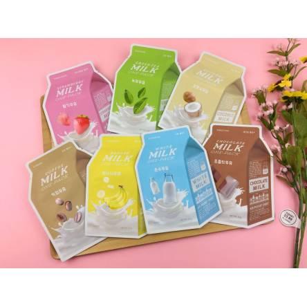 Тканевая маска для лица A'PIEU Milk One-Pack - 21 гр
