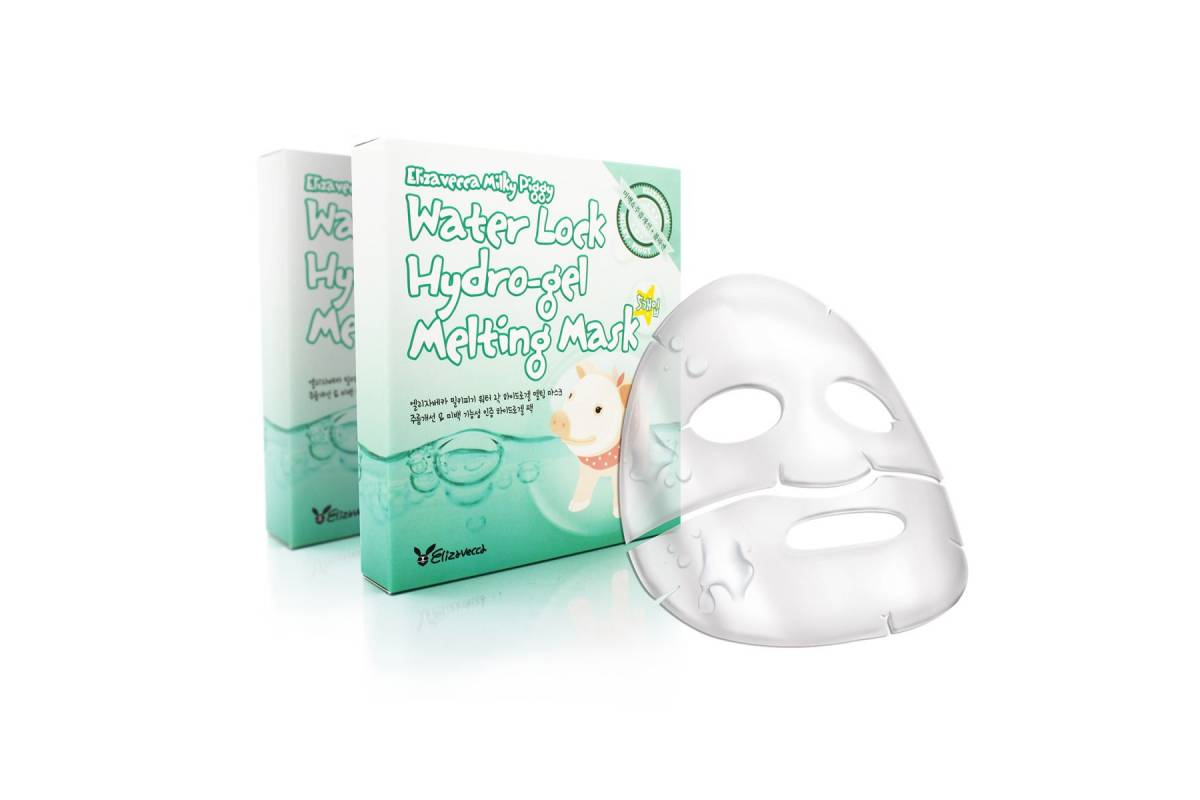Гидрогелевая маска для лица Elizavecca Milky Piggy Water Lock Hydrogel Melting Mask