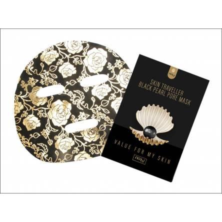 Тканевая маска с  жемчугом NO:HJ Skin Traveller Black Pearl Pore Mask - 28 гр