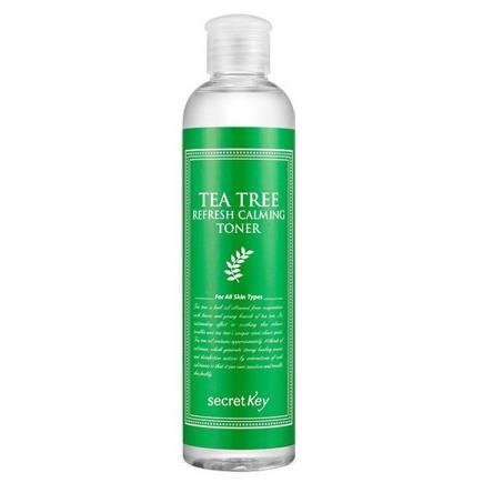 Успокаивающий тонер для лица с чайным деревом SECRET KEY Tea Tree Refresh Calming Toner - 248 мл
