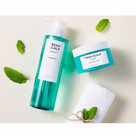 Освежающий шампунь для волос Missha Fresh Scalp Therapy Shampoo - 380 мл
