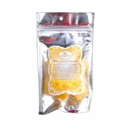 Шелковые коконы для очищения лица с маслом манго и коллагеном Wannachan Mango Cocoon - 12 шт