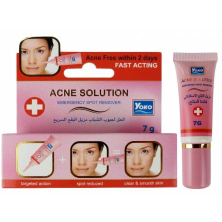 Точечный крем от акне Yoko Acne Solution Emergency Spot Remover - 7 гр