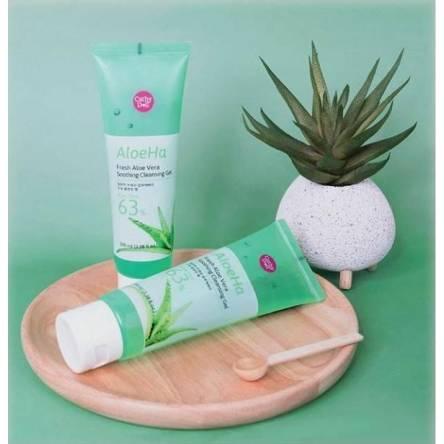 Очищающий гель для умывания с алоэ Cathy Doll Aloe Ha Fresh Aloe Vera Soothing Cleansing Gel - 100 мл