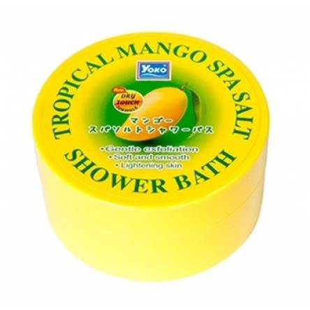 Скраб для тела c манго Yoko Tropical Mango Spa Salt Shower Bath - 240 гр
