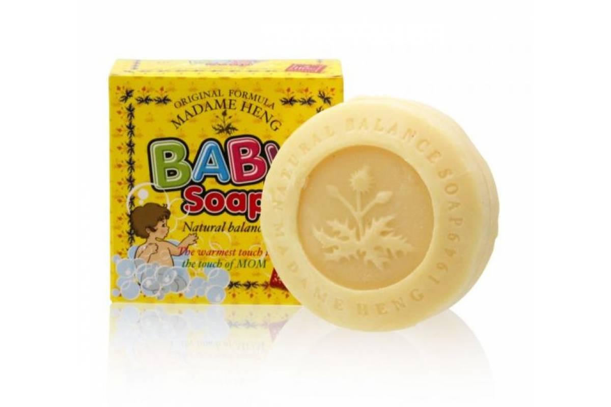 Натуральное детское мыло Madame Heng Baby Soap - 150 гр