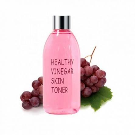 Восстанавливающий тоник с красным вином Realskin Healthy Vinegar Skin Toner (Grape Wine) - 300 мл