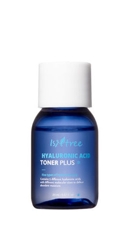 Миниатюра интенсивно увлажняющего тонера Isntree Hyaluronic Acid Toner Plus Mini - 20 мл