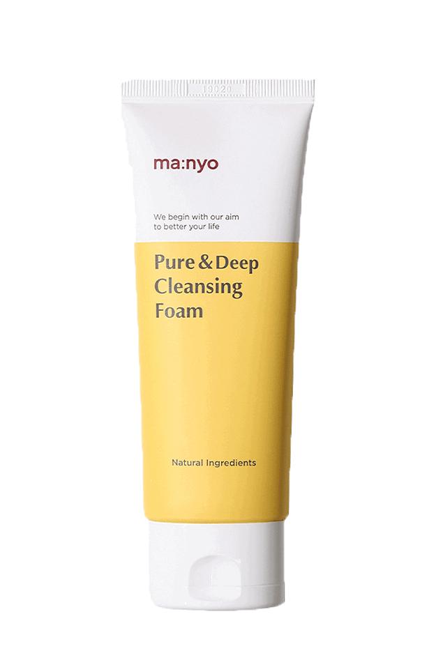 Пенка для глубокого очищения пор с керамидами Manyo Pure Deep Cleansing Foam - 100 мл