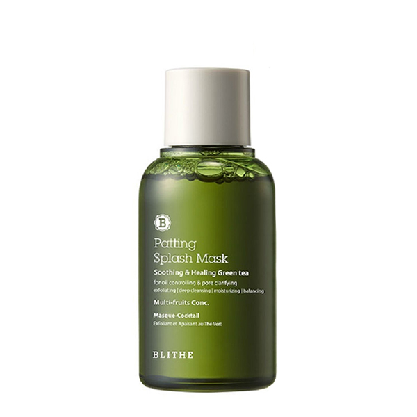 Успокаивающая сплэш-маска Blithe Soothing&Healing Green Tea Splash Mask - 70 мл