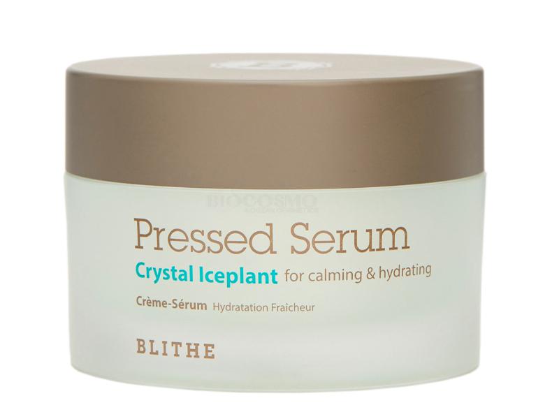 Спрессованный крем-серум с хрустальными травами Blithe Pressed Serum Blithe Crystal Iceplant - 50 мл