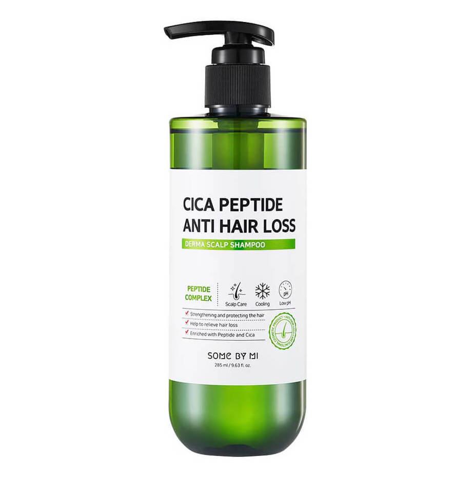 Укрепляющий шампунь с центеллой Some By Mi Cica Peptide Anti Hair Loss Shampoo - 285 мл