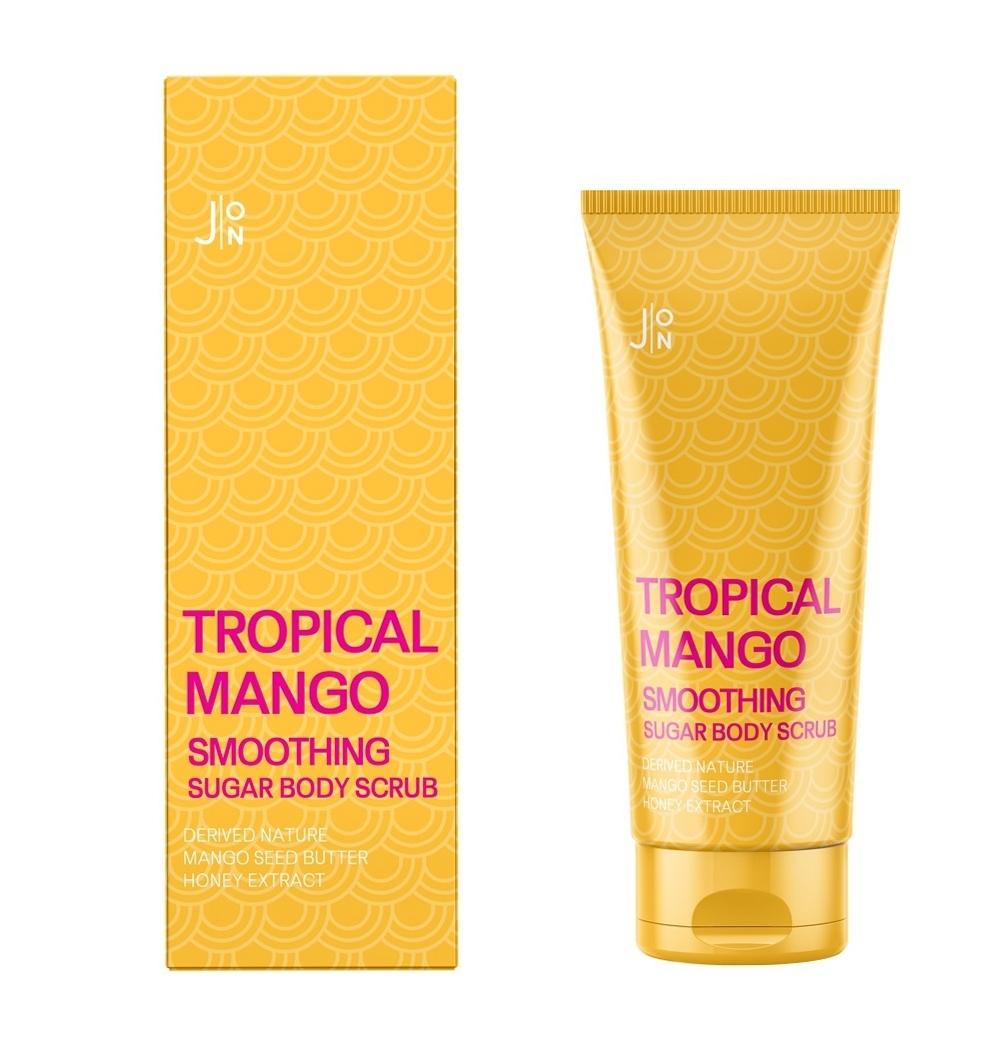 Скраб для тела манго J:ON Tropical Mango Smoothing Sugar Body Scrub - 250 мл