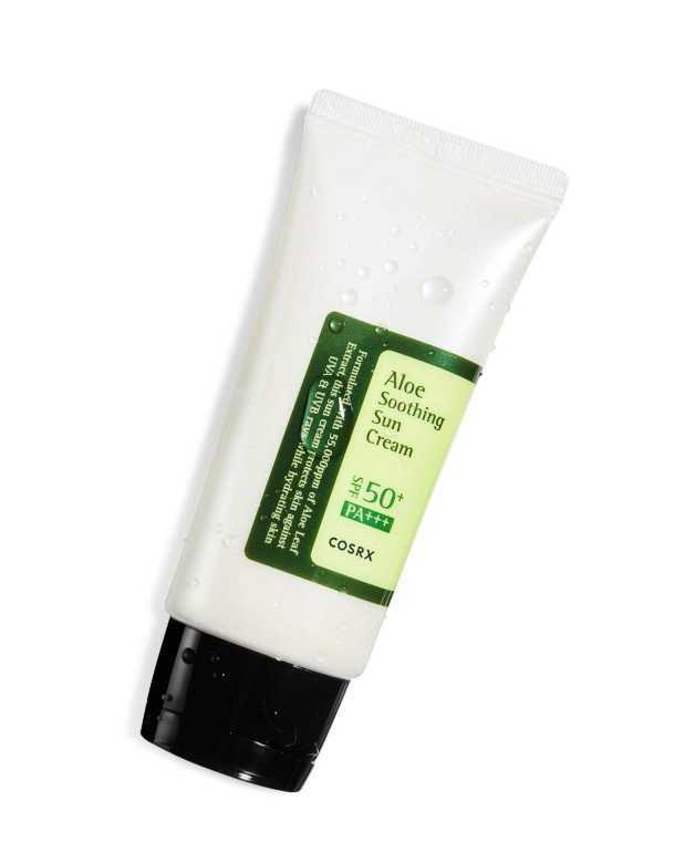 Солнцезащитный крем с соком алоэ Cosrx Aloe Soothing Sun Cream - 50 мл