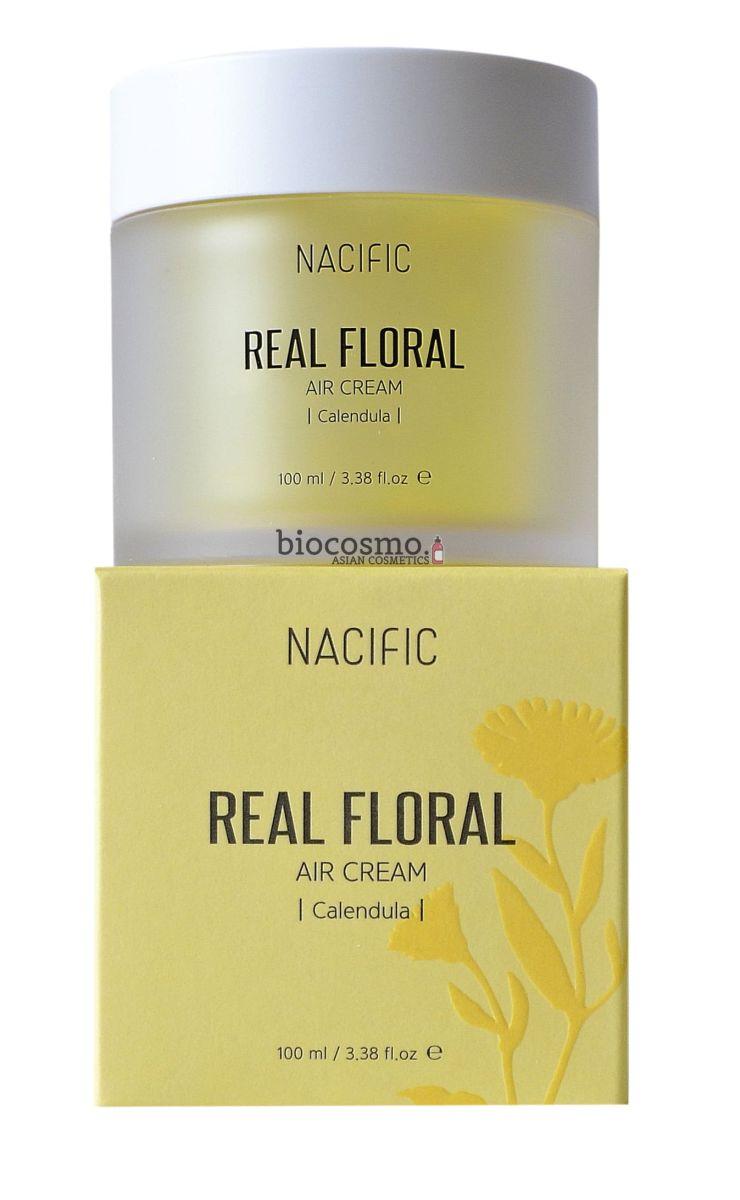 Гель-крем с лепестками календулы NACIFIC Real Floral Air Cream Calendula - 100 мл