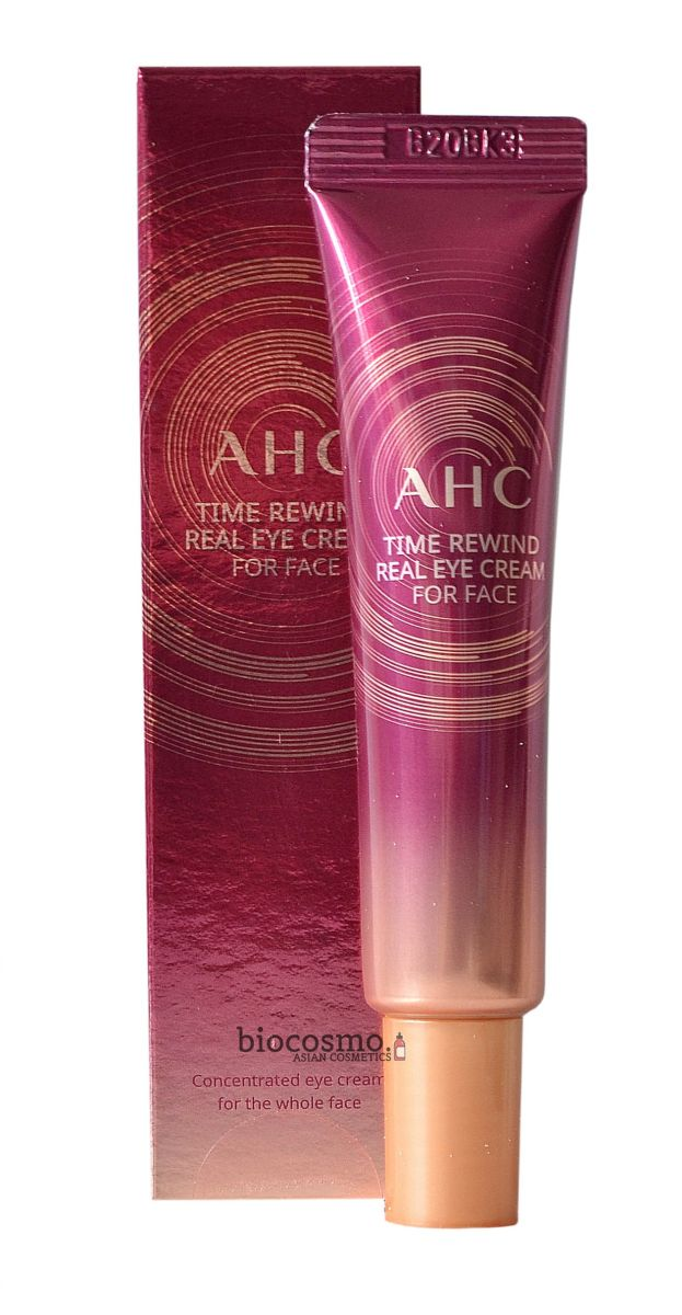 Омолаживающий крем для век A.H.C. Time Rewind Real Eye Cream For Face - 12 мл