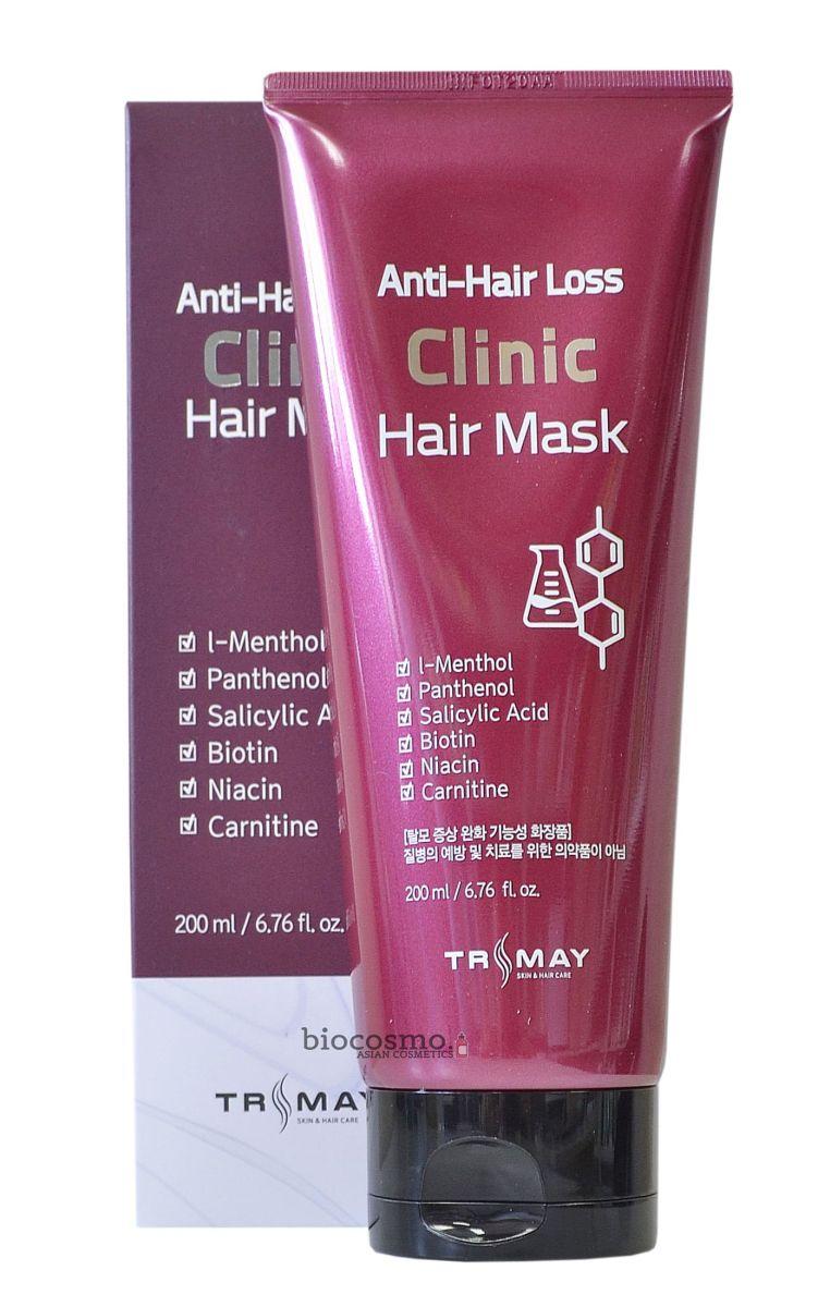 Маска против выпадения волос Trimay Anti Hair Loss Clinic Hair Mask - 200 мл