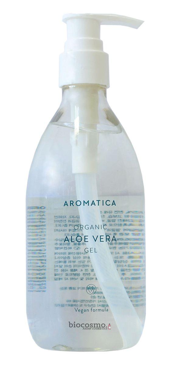 Органический увлажняющий гель c алоэ AROMATICA 95% Organic Aloe Vera Gel - 300 мл