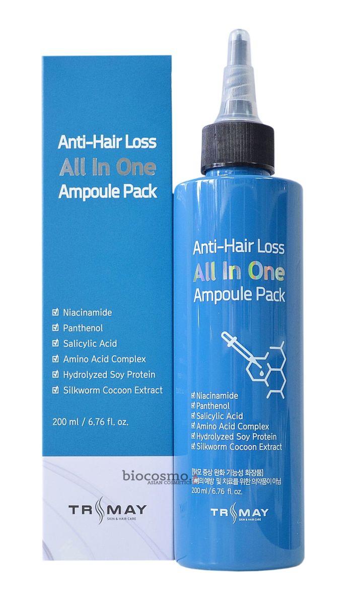 Ампульная маска против выпадения волос Trimay Anti-Hair Loss All In One Ampoule Pack - 200 мл