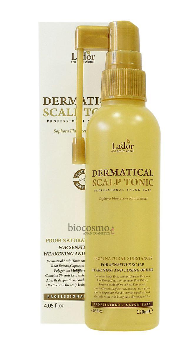 Тоник для кожи головы против выпадения волос Lador Dermatical Scalp Tonic - 120 мл