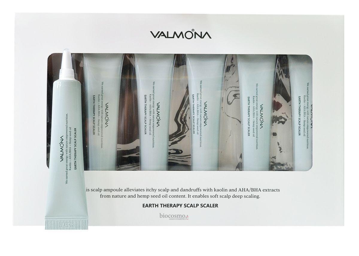 Очищающая сыворотка для кожи головы VALMONA Earth Therapy Scalp Scaler - 15 мл