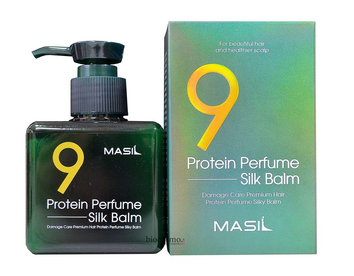Несмываемый бальзам для поврежденных волос Masil 9 Protein Perfume Silk Balm - 180 мл