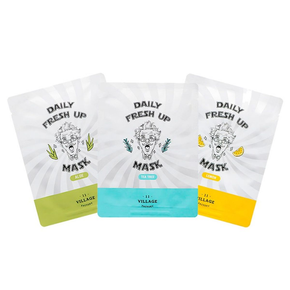 Тканевая маска Village 11 Factory Daily Fresh Up Mask - 20 гр