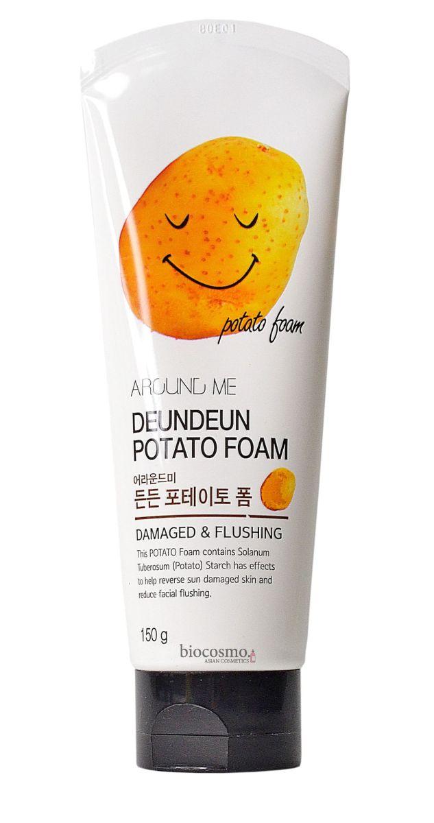 Пенка для умывания с картофелем Welcos Around Me Deundeun Potato Foam - 150 мл