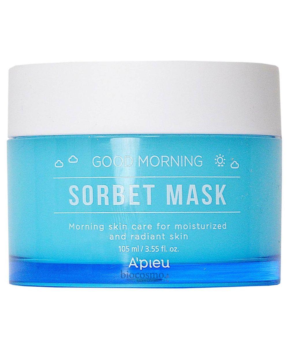 Утренняя увлажняющая маска-сорбет для лица A'Pieu Good Morning Sorbet Mask - 110 мл