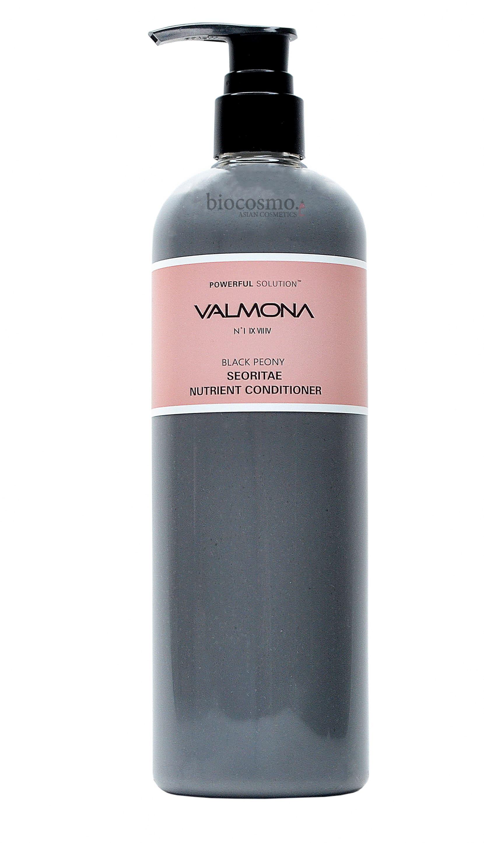 Укрепляющий кондиционер для волос EVAS Valmona Black Peony Seoritae Nutrient Conditioner - 500 мл