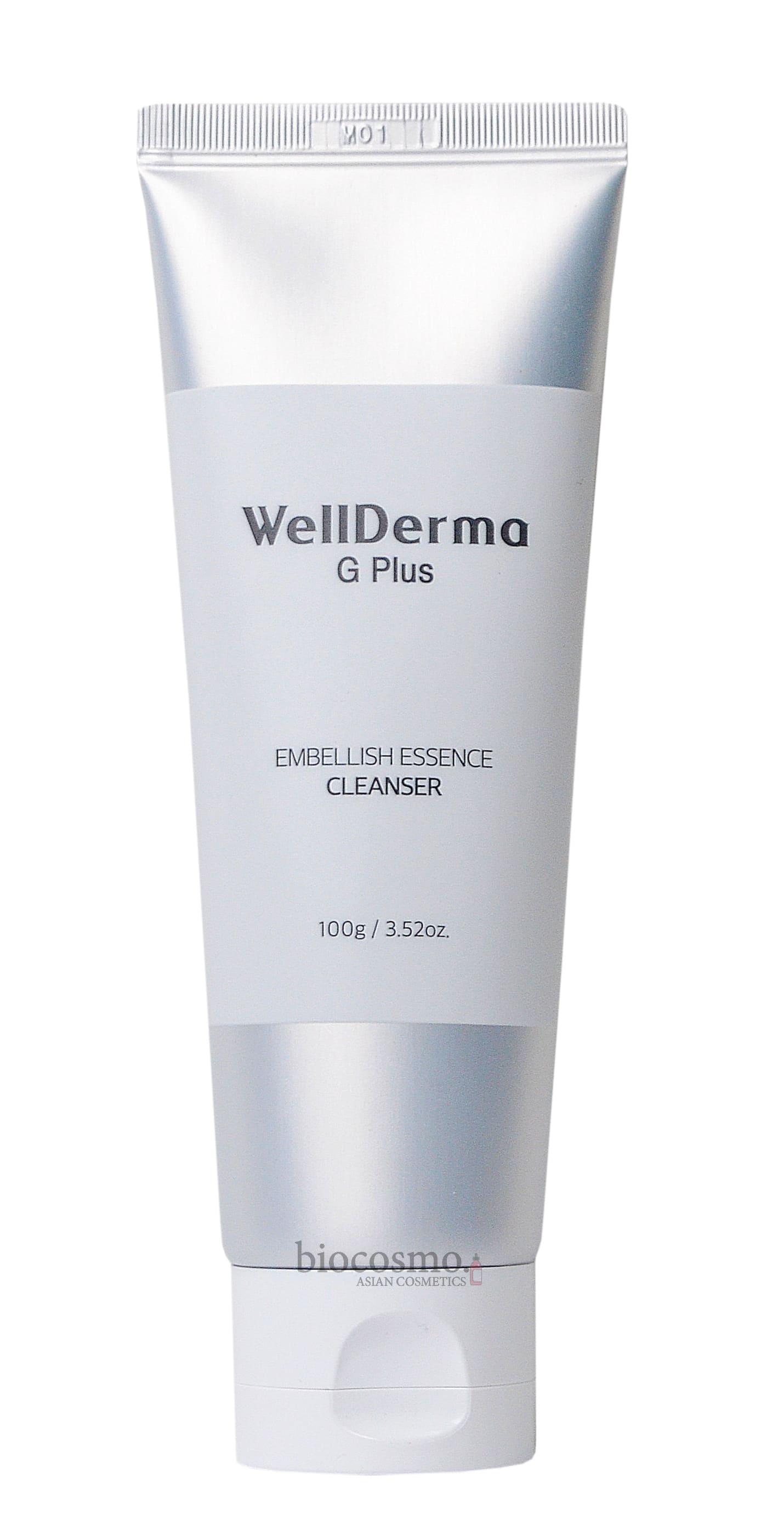 Увлажняющая пенка для умывания WellDerma G Plus Embellish Essence Cleanser - 100 мл