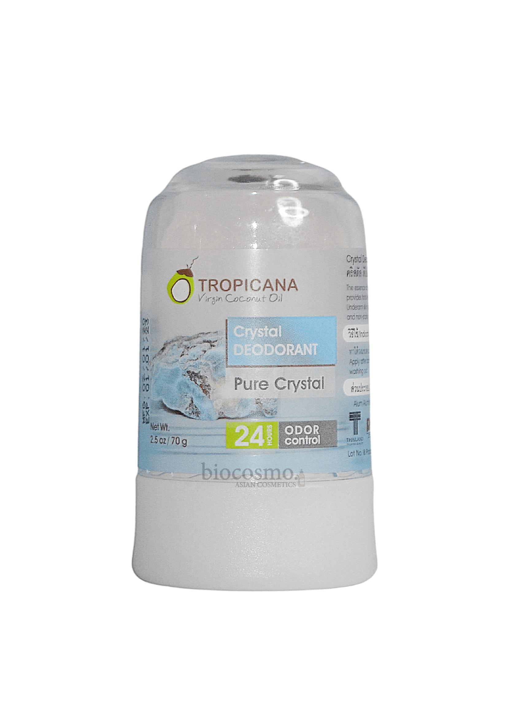 Дезодорант кристалл натуральный Tropicana Natural Crystal Deodorant - 70 гр